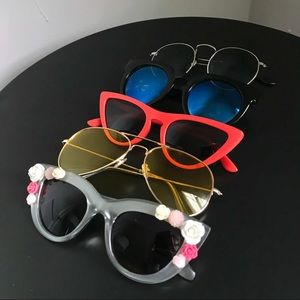 Accessories - Variety Set Used Sunglasses Bundle (5)